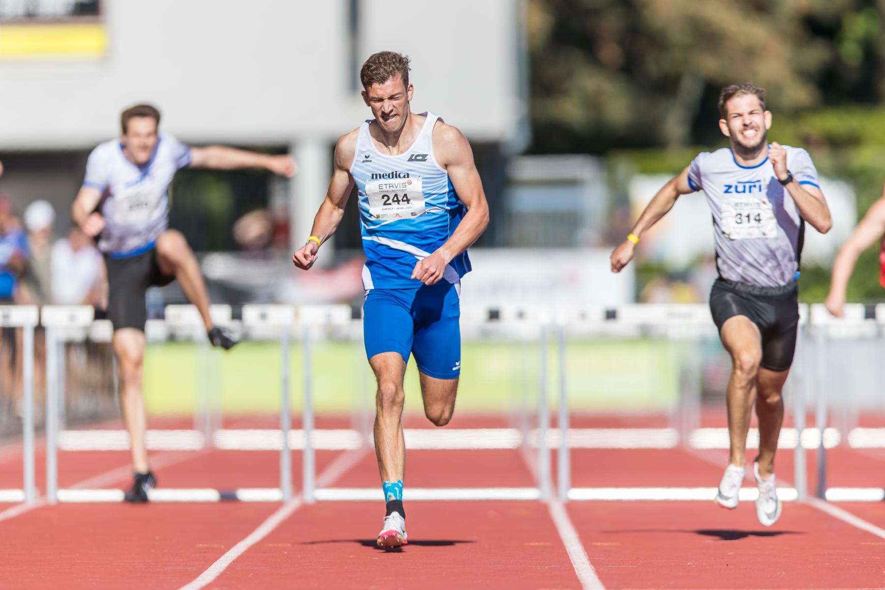 Martijn Meijer  (Leichtathletik Club Zuerich, 244)  at the Swiss Interclub Championship on Saturday, 18.09.2021