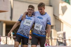 Lionel Spitz  (LG Zueri+, 322)  and  Martin Fuchs  (LG Zueri+, 307)  at the Swiss Interclub Championship on Saturday, 18.09.2021